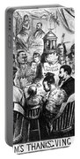 Immigration Cartoon, 1869 Portable Battery Charger
