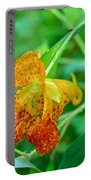 Impatiens Capensis - Orange Spotted Jewelweed Portable Battery Charger