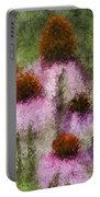 Impressionistic Cones Portable Battery Charger