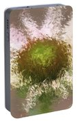 Impressionistic Echinacea Portable Battery Charger