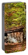 In Autumn Woods Portable Battery Charger by Steve Harrington