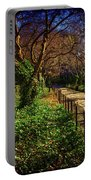 In The Conservatory Garden Portable Battery Charger