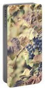 In The Vineyard Portable Battery Charger by Lisa Russo
