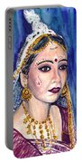 Indian Bride  Portable Battery Charger