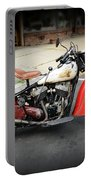 Indian Chief Motorcycle Rare Portable Battery Charger