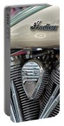 Indian Motorcycle Engine Portable Battery Charger