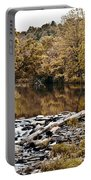 Indian Summer At Brandywine Creek Portable Battery Charger