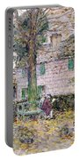Indian Summer In Colonial Days Portable Battery Charger by Childe Hassam