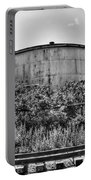 Industrial Tank In Black And White Portable Battery Charger