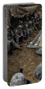 Infantrymen Receive Their Safety Brief Portable Battery Charger