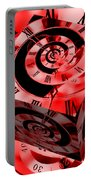 Infinity Time Cube Red Portable Battery Charger