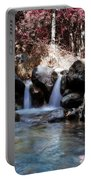 Infrared Waterfall Portable Battery Charger