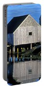 Inlet At Peggys Cove Nova Scotia Portable Battery Charger