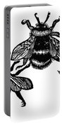 Insects: Bees Portable Battery Charger