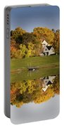Inspiration Lake In Autumn Portable Battery Charger