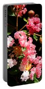 Interesting Flowers Portable Battery Charger