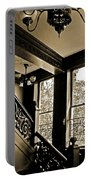 Interior Elegance Lost In Time Portable Battery Charger by DigiArt Diaries by Vicky B Fuller