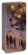 Interior Notre Dame Cathedral Portable Battery Charger