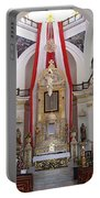Interior Of Our Lady Of Guadalupe  Portable Battery Charger