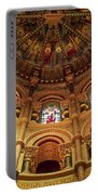Interiors Of A Cathedral, St. Finbarrs Portable Battery Charger