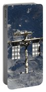 International Space Station Backgropped Portable Battery Charger