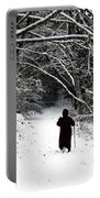 Into The Snowy Forest Portable Battery Charger