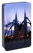 Invasion Of The Black Spider Portable Battery Charger