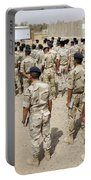 Iraqi Air Force College Cadets March Portable Battery Charger by Stocktrek Images