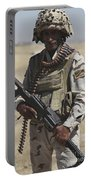 Iraqi Army Soldier Portable Battery Charger