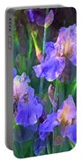 Iris 51 Portable Battery Charger by Pamela Cooper