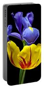 Iris And Tulip Portable Battery Charger