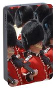 Irish Guards March Pass During The Last Portable Battery Charger