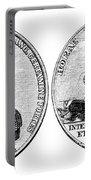 Isaac Hull: Medal Portable Battery Charger