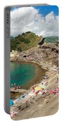 Islet In The Azores Portable Battery Charger