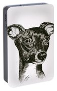 Italian Greyhound Portable Battery Charger