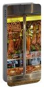 Italian Market Butcher Shop Portable Battery Charger
