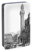 Italy: Siena, 19th Century Portable Battery Charger