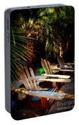 Its Margarita Time In Paradise Portable Battery Charger