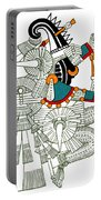 Iztlacoliuhqui, Aztec God Of Frost Portable Battery Charger