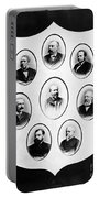 J.a. Garfield: Cabinet Portable Battery Charger
