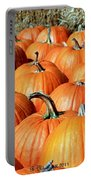 Jack O'lantern Waiting Line Portable Battery Charger