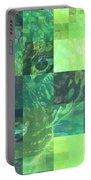 Jaguar Graph Geo Green Portable Battery Charger