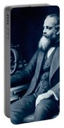 James Clerk Maxwell, Scottish Physicist Portable Battery Charger