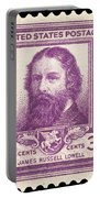 James Russell Lowell Portable Battery Charger