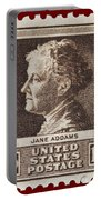 Jane Addams Postage Stamp Portable Battery Charger