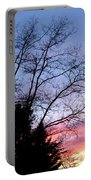 January Silhouette Portable Battery Charger