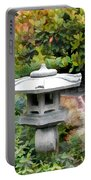 Japanese Garden Stone Snow Lantern Portable Battery Charger