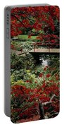 Japanese Garden, Through Acer In Portable Battery Charger