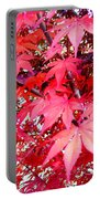 Japanese Maple Leaves 11 In The Fall Portable Battery Charger