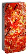 Japanese Maple Leaves 12 In The Fall Portable Battery Charger